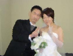 結婚写真。のオイルぼかし加工( ̄m ̄〃)