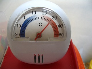 100円の温度計